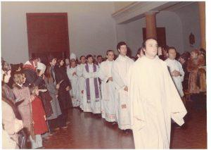 Viceparroco alla Trasfigurazione