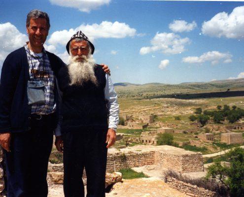 don Andrea con fratello ortodosso