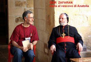 don Andrea in Turchia in dialogo con un vescovo ortodosso