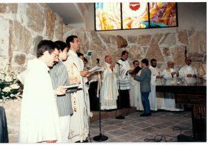 inaugurazione parrocchia Gesù di Nazareth